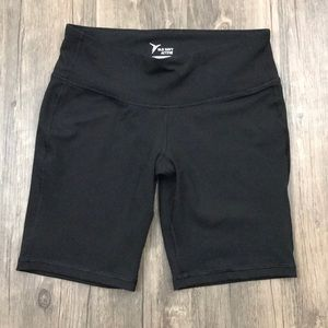 Old Navy Active Fitted Black Workout Shorts